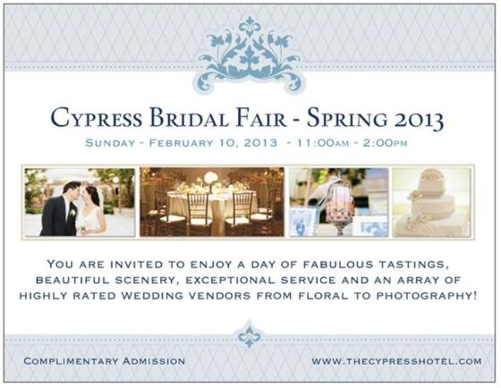 Cypress Bridal Open House 2013