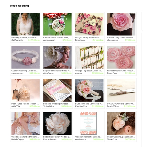 Rose Wedding Treasury